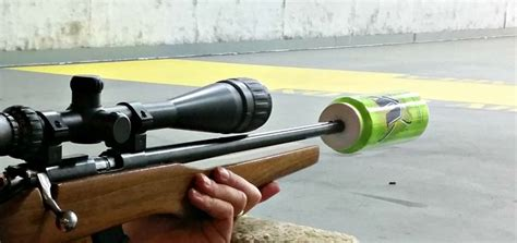 How To Make Homemade Silencer For 22 Rifle And Pump Action 22 Magnum Rifles For Sale