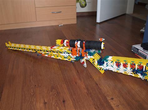 How To Make Knex Sniper Rifle