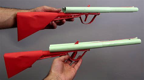 How To Make Paper Shotgun That Shoots