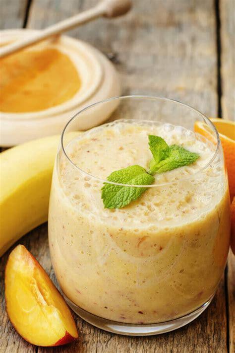 How To Make Peach Banana Smoothie
