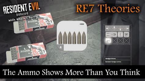 How To Make Shotgun Ammo Resident Evil 7