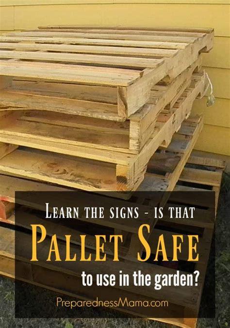 how to make wood pallets safe Image