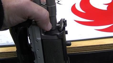 How To Mount A Harris Bipod Adapter On Ruger Mini 14 30