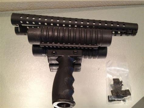 How To Mount Picatinny Rail On Shotgun Forend