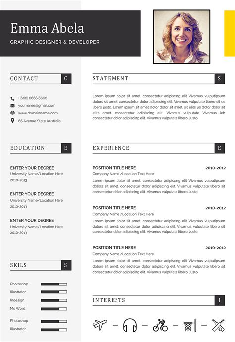How To Create The Perfect Resume Template My Perfect Resume