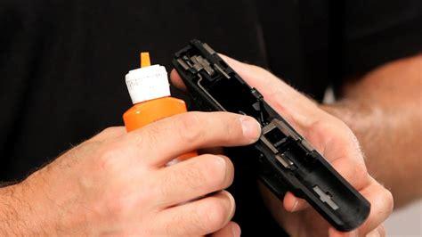 How To Oil A Handgun