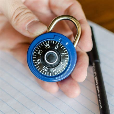How To Open A Master Combination Lock Hunker