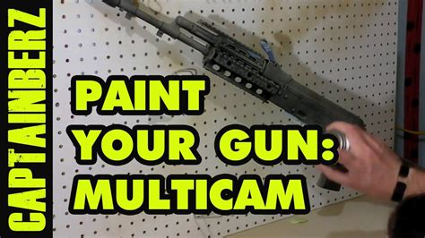 How To Paint Your Rifle Part 1 On Youtube
