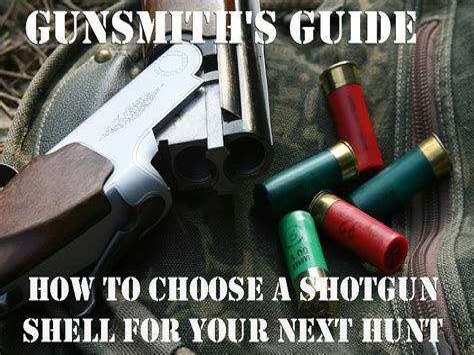 How To Pick Guage Of Shotgun