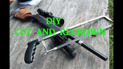 How To Recrown A Rifle Barrel