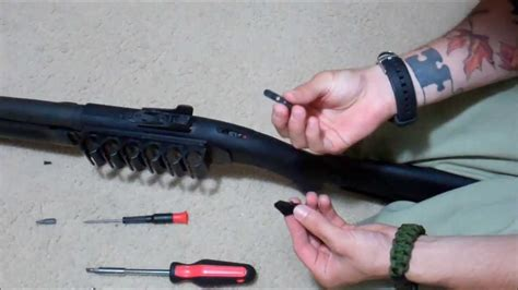 How To Remove Or Replace A Mossberg 500 Or 590 Safety Eric Tbp