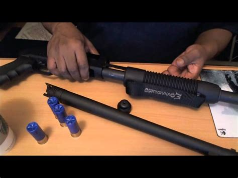 How To Remove Plug From Mossberg 500 Shotgun