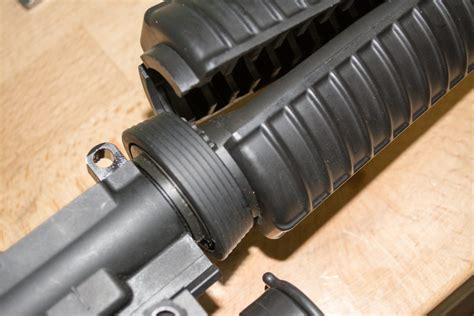 How To Remove The Barrel Tip Of An Ar 15