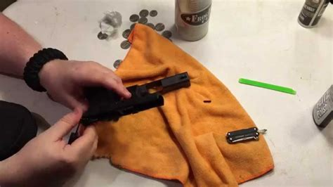 How To Remove The Locking Block Pin From The Glock 43 You Can Not Just Pound It Out Enjoy Friends