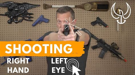 How To Shoot Rifle Right Handed Left Eye Dominant