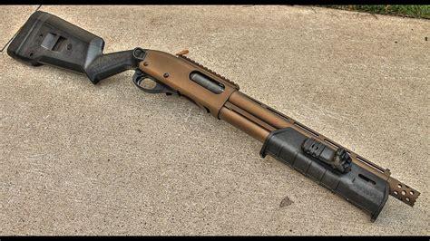 How To Shorten The Barrel On A Remington 870 Shotgun