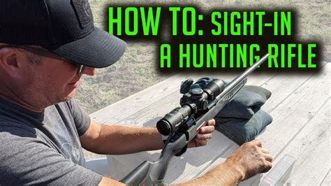 Rifle-Scopes How To Sight In A Deer Rifle Scope.
