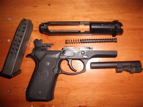 Beretta-Question How To Take Apart A Beretta 92fs.