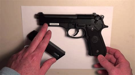 Beretta-Question How To Take Apart Your 9 Millimeter Beretta