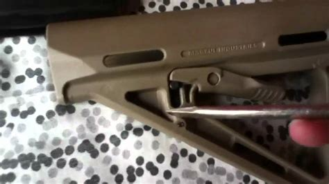 How To Take Magpul Stock Off