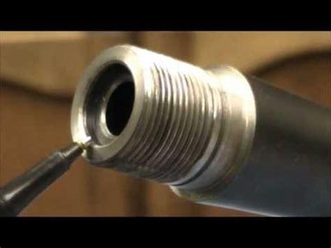 How To Thread A Remington 700 Barrel