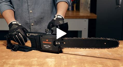 How To Tighten The Chain On A Remington Pole Saw