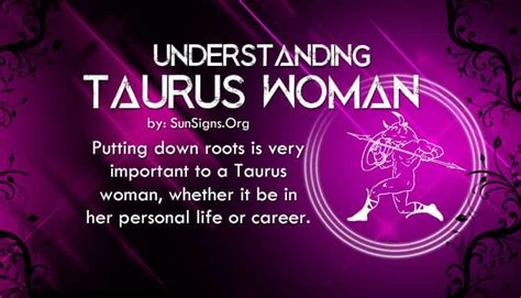 Taurus-Question How To Understand A Taurus Woman