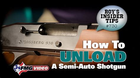 How To Unload A Remington Semi Automatic Shotgun