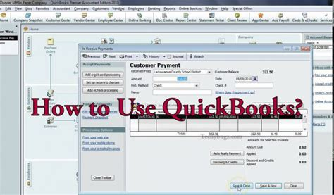 How To Use Quickbooks For Personal Finance