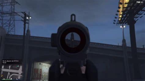 How To Use Scope On Rifle Gta V