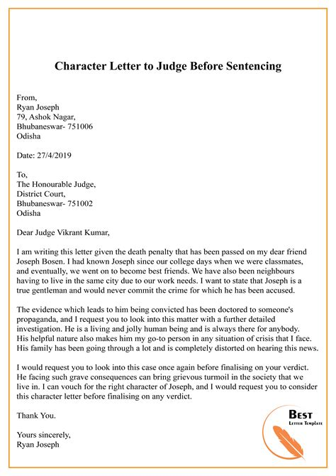 Reference Letter To A Judge from tse1.mm.bing.net