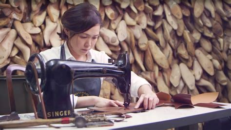 how was it made the art of shoe making Image
