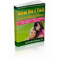 How do i tell the kids about the divorce? a create a storybook guide that works