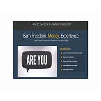 Cheapest how to become a freelance recruiter