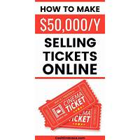 How to become a ticket broker and make money from home online coupon