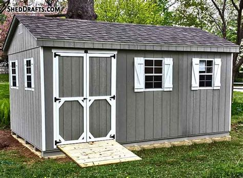 How to build a 12x20 gable roof shed in 10 minutes Image