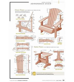 How To Build A Adirondack Chair Plans