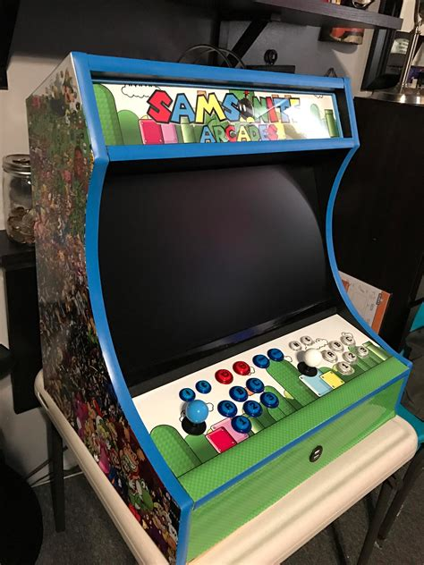 How to build a bartop arcade Image