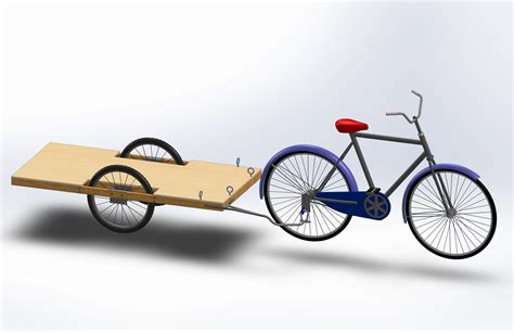 How to build a bike trailer Image