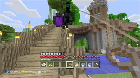 How to build a chicken coop in minecraft xbox 360 Image