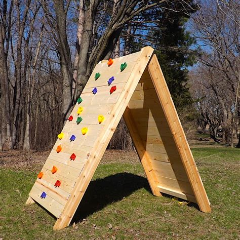 How to build a climbing rock wall Image