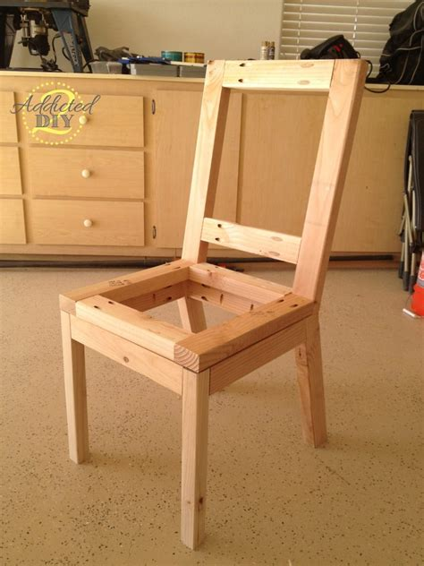 How to build a dining room chair Image