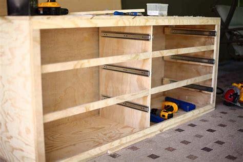 How to build a dresser frame Image