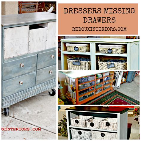 How to build a dresser with no drawers Image