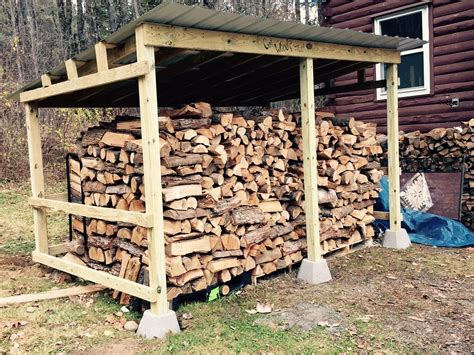 How to build a firewood shed by yourself Image