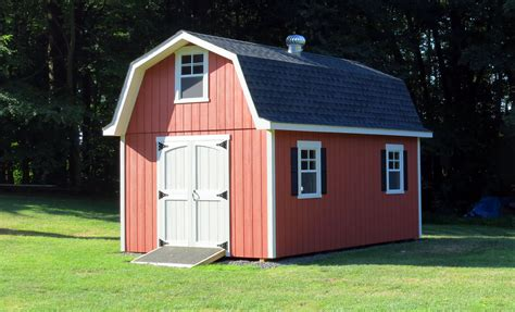 How to build a gambrel storage shed Image
