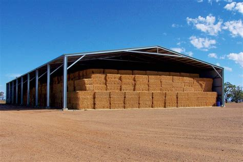 How to build a hay storage shed Image