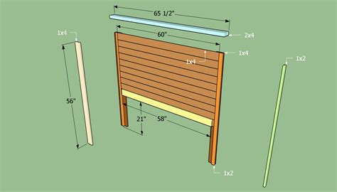 How to build a headboard for a bed Image