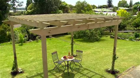 How to build a pergola mitre 10 easy as Image