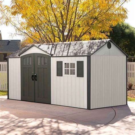 How to build a resin storage shed Image